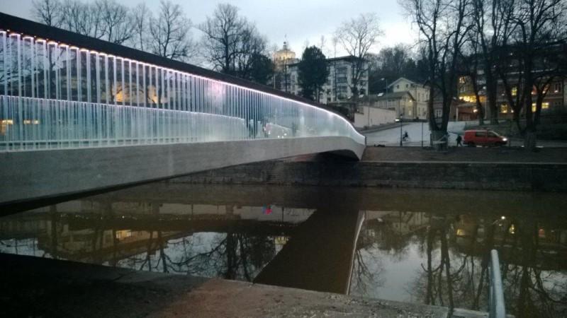 Kirjasto silta Turku